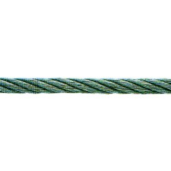CABLE ACIER DUR GALVANISE QUALITE LEVAGE 4 MM, RESIST. 190 KG ROULEAU DE 100M