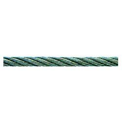 CABLE ACIER INOXYDABLE RESIST. 410 KG, ROULEAU DE 50 M, DIAMETRE 6MM