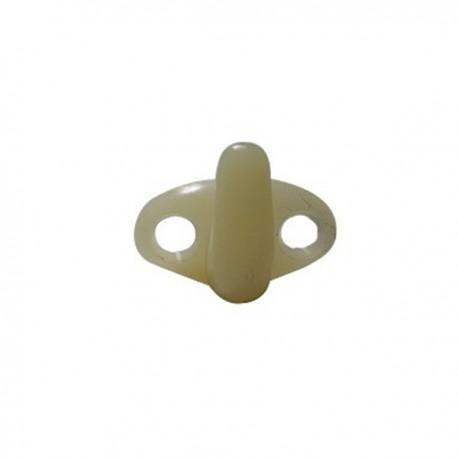 CROCHET PLASTIQUE BLANC, 0,280KG