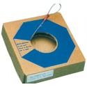 CABLE ACIER DUR GALVANISE 4MM RESIST. 205 KG ROULEAU DE 100 M