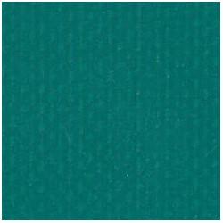 BACHE PVC VERTE SUR MESURE CONFECTIONEE OEILLETS TOUS LES 50CM 5,8/1,3M