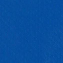 BACHE PVC BLEU SUR MESURE CONFECTIONEE OEILLETS TOUS LES 30CM 1,4/1,8M