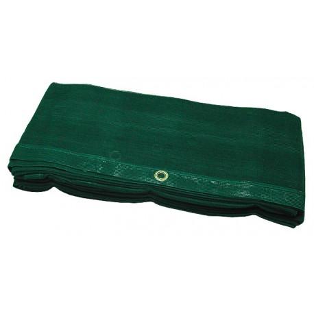 Filet de benne de camion vert tricoté 3.5m x 5m