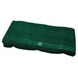 Filet de benne de camion vert tricoté 3.5m x 6m